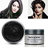 Hair Color Wax,One-time Temporary Modeling Natural Color Hair Dye Wax,Natural Matte Hairstyle