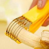 Qualitäts-Edelstahl- Gurke Banana Slicer Cutter Kitchen Tools