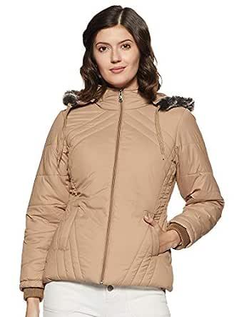 Qube By Fort Collins Women's Jacket (39226 SMU_2_Beige_M)