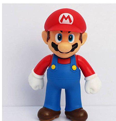 3pcs/set Super Mario Bros Luigi Mario Yoshi PVC Action Figures toy 13cm by Brand New 4