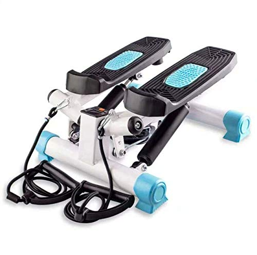 LJXiioo Übungs-Mini-Stepper Mini-Stepper-Übungsgerät-Monitor-Maschine mit Band für Übung -