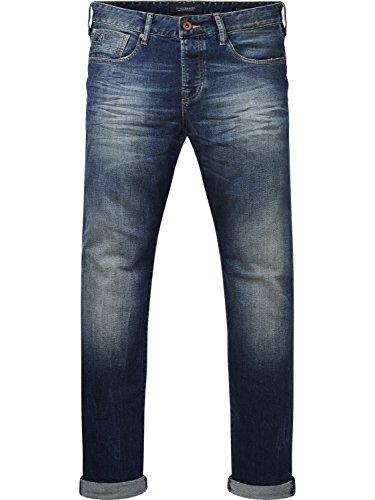 Scotch & Soda Herren Straight Jeans Ralston-Blauw Sugar, Blau (Blauw Sugar Dark 2189), W32/L32