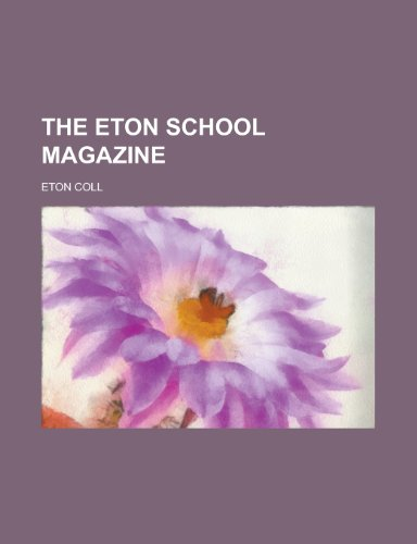 The Eton School Magazine