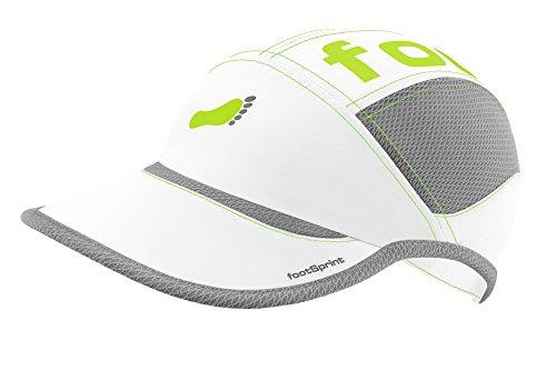 Super leichte Lauf-Mütze Running-Cap Kappe für Herren Damen von footSprint - tolle Farben für Sport und Freizeit, feinste Funktionsfasern atmungsaktiv hoch elastisch, [Sport & Freizeit Bekleidung]