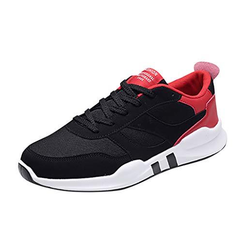 JYJM Sneakers Mesh Herren Komfortable Freizeit Mesh Beathing Athletic Running Sport Sneakers Schuhe Lace-Up-Sneakers Freien beiläufige Arbeitsschuhe Athletic-post-oxford