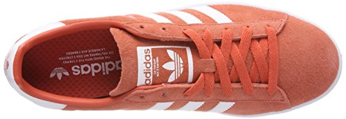 adidas Campus, Baskets Homme Rouge (Trace Scarlet S18/ftwr White/ftwr White)