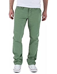 SELECTED HOMME Herren Hose Normaler Bund 16029627 Three Paris hedge green pants