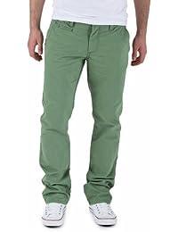 SELECTED HOMME Herren Hose Normaler Bund 16029627 Three Paris hedge green pants