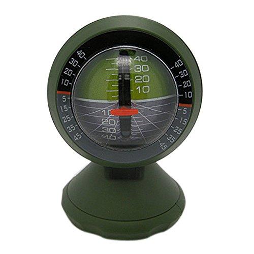 Shopbibles Auto Neigungsmesser Gradient Balancer Instrument Für Geländewagen und selbstfahrende Reisen Supplies Grün (Reise-instrument)