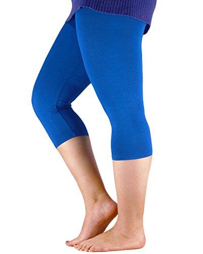 Azue Damen Leggings Königsblau