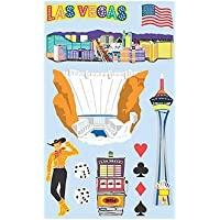 Las Vegas Paper Whispers Scrapbook Stickers (20933)