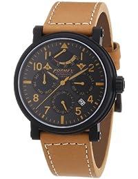 Formex 4 Speed 485.1.5324 - Reloj analógico automático para hombre con correa de piel, color beige