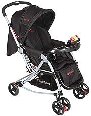 Tiffy & Toffee 3 in 1 Baby Stroller Pram (Black)