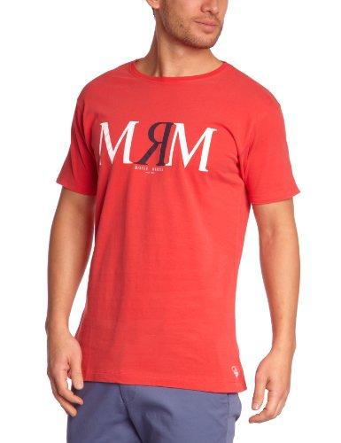 Mister Marcel Herren T-Shirts Rot (Red)