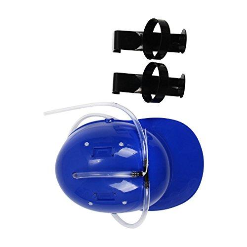 Hut - TOOGOO (R) Headset mit Unterstuetzung Getraenk Alkohol Bier Farbe Blau (Bier Hut)
