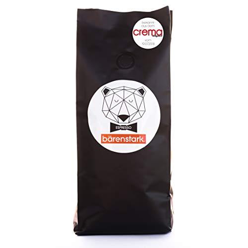 Kaffeebohnen'bärenstark' für Espresso & Cappuccino & Crema | Vollautomat & Siebträger | fair...
