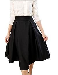 Amazon.it  gonna vita alta - Gonne   Donna  Abbigliamento de389329a19