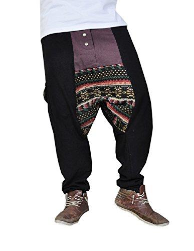 ▷ virblatt pantalones cagados jersey largo en 2 colores con una ... 5ea195a1927b