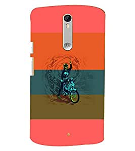 PRINTSWAG SKELETON Designer Back Cover Case for MOTOROLA MOTOX PLAY