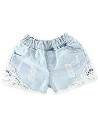 LaoZanA Fille Denim Taille Basse Jeans Hot Shorts Pantalons Jeans en Denim  Shorts Jeans Hot Pants 279033c95e7