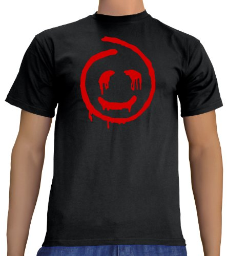 Touchlines Unisex/Herren T-Shirt Red John - The Mentalist, black, L, (Baker Kostüme Halloween)