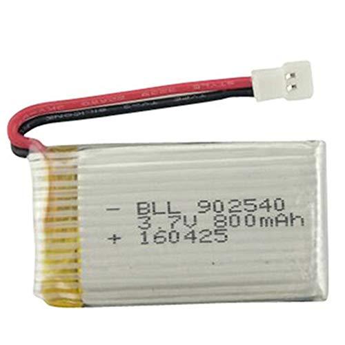 SODIAL 3,7 V 800 Mah 902540 Lipo Batterie 30C Für X5C X5Sc X5Sw X5Hw X5Uw  Cx-30 Tianke M68 Rc Quadcopter 3 7V Batterie
