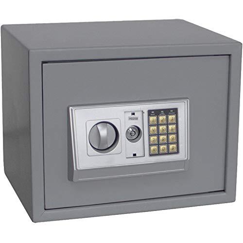 SAFE 3992 Tresor mit Zahlenschloss MIDI - Kleiner Tresor mit Zahlencode und Schlüssel - B 380 x T 300 x Höhe 300 mm 13 KG