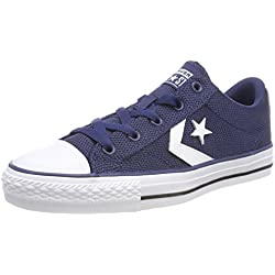 Converse Star Player OX, Zapatillas Unisex Adulto, Blau (Navy/White/Black 426), 38 EU