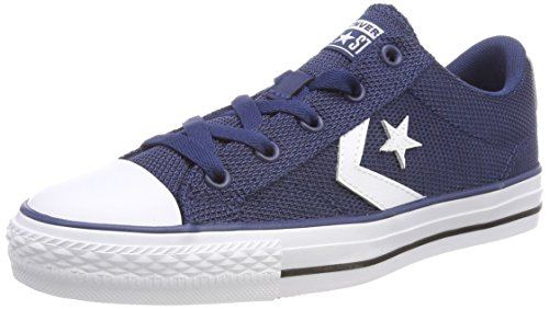 Converse Star Player OX Navy/White/Black, Zapatillas Unisex Adulto, Blau 426, 36 EU