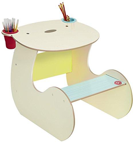 Worlds Apart 517SNG01E Set aus Kinderschreibtisch und Hocker im Bärendesign