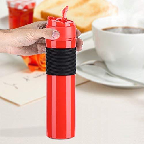 411L5AoNjdL. SS500  - 350ml Portable Mini Espresso Maker Hand Held Pressure Caffe Espresso Machine Compact Manual Coffee Maker for Home Office…