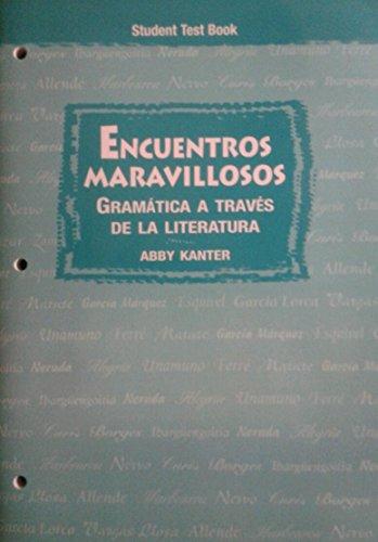 Encuentros Marvillosos: Gramatica A Traves De La Literatura