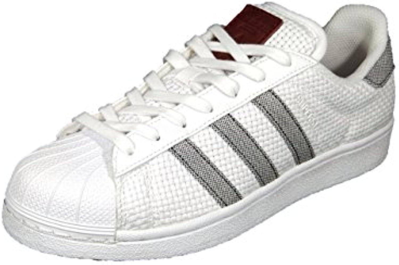 Gentiluomo   Signora adidas, scarpe da ginnastica Uomo Bianco bianca Buon design comfort davvero | Delicato  | Scolaro/Signora Scarpa