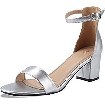 best authentic 95f26 01370 Suchergebnis auf Amazon.de für: silber sandaletten mit absatz