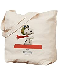CafePress Tote Bag - Peanuts Snoopy Flying Ace - The Peanuts Movie Tote Bag by CafePress