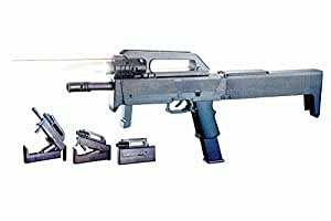 Sunshine 18 Inches Briefcase BB Bullet Gun with Laser Target and Torch