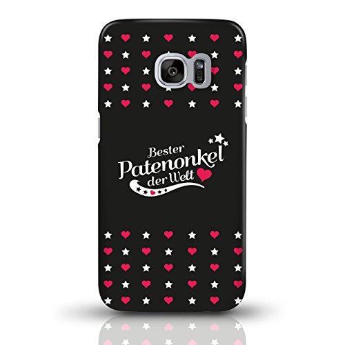 """JUNIWORDS Handyhüllen Slim Case für Samsung Galaxy S7 mit Schriftzug """"Bester Patenonkel der Welt"""" - ideales Weihnachtsgeschenk für den Patenonkel - Motiv 4 - Handyhülle, Handycase, Handyschale, Schutz motiv 3"""