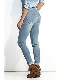Amazon.es  cinturon vaquero - Pantalones   Mujer  Ropa 777c8fd23f5c
