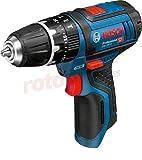 Bosch Professional 06019B6901 Bosch GSB 12V-15 Professional, Solo Carton-Taladro...
