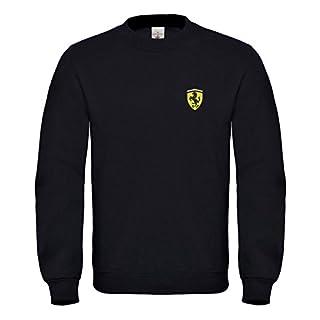 caprica91 Ferrari Italien Bestickte Auto Sweatshirts VIP Super Qualität 100% Cotton - 6080Sw (L)