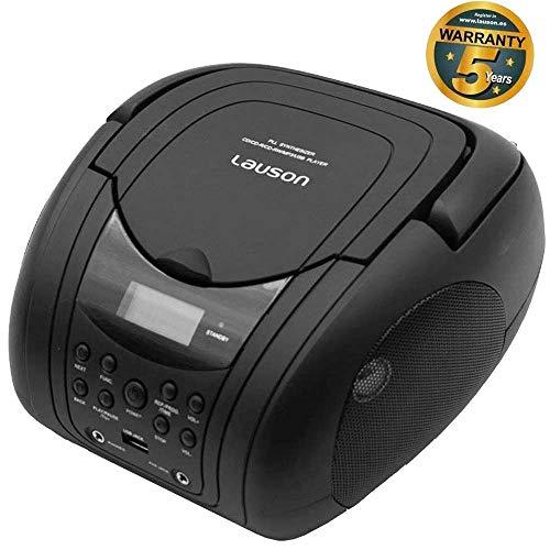 Lauson Lecteur CD / MP3, radio FM / portable stéréo PLL, lecteur USB, écran LCD, couleur no