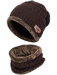 398b4732378 Winter Beanie Hat Scarf Set