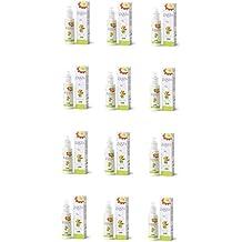 derbe–Zanza Spray 12paquetes de 125ml, Loción antizanzara Natural, con esenciales de citronella, geranio, lavanda, Limón, Bergamota, Romero, Salvia y aceite de andiroba.