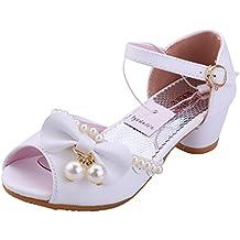 Sandali Bambina Ballerine Scarpe Ragazza Principessa Costume - Tyidalin  Perline Eleganti Compleanno Cerimonia Festival Primavera per 819b7c54e2e