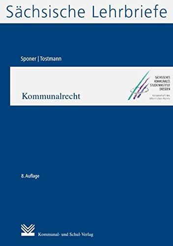 Kommunalrecht (SL 5): Sächsische Lehrbriefe