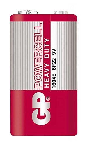 GP 1604ER-S1 Powercell Batterie Zn-C 9V/6F22 (9V)