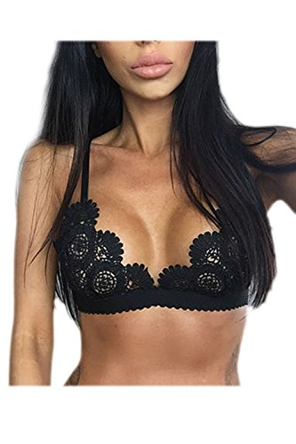 Yacun Ropa Interior Mujer Sexy Top Deportivo Sujetador