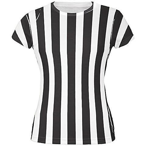 Halloween-Kostüm auf der ganzen Junioren T Shirt Multi Schiedsrichter 2XL (Schiedsrichter T-shirts Kostüm)