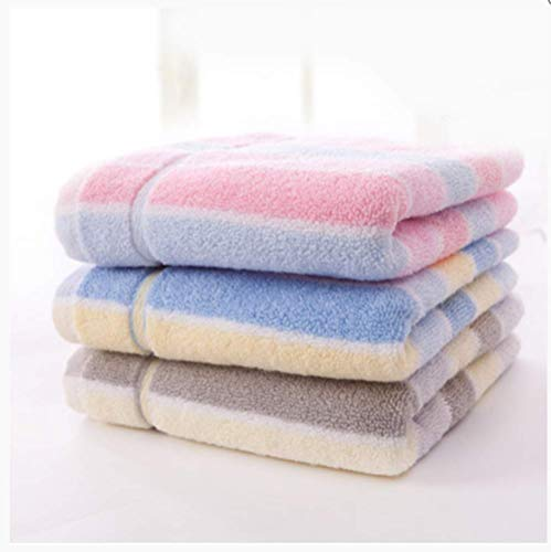 CDOY Erwachsene Waschhandtuch Aus Reiner Baumwolle, 3Er-Pack, Ganzer Baumwolle, Weich Und Atmungsaktiv