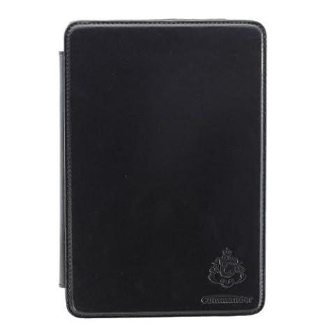 Commander Étui Leather Sac Deluxe Noir pour Apple iPad Mini Produit sous licence point PDA